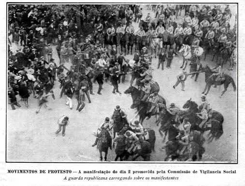 Protesto - Agosto 1911