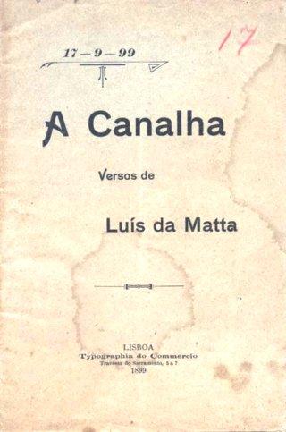 A Canalha, de Luiz da Mata