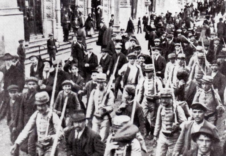 sindicalistas presos